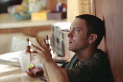 Eminem as 'Rabbit' in 8 Mile