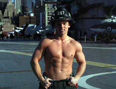 FDNY: Firefighter Billy Biel, photo copyright Alan Batt