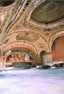 Detroit's Michigan Theatre, now a parking lot