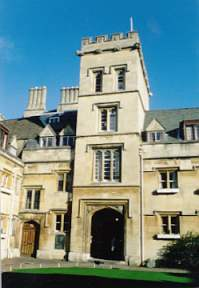 The gatehouse, Pembroke College
